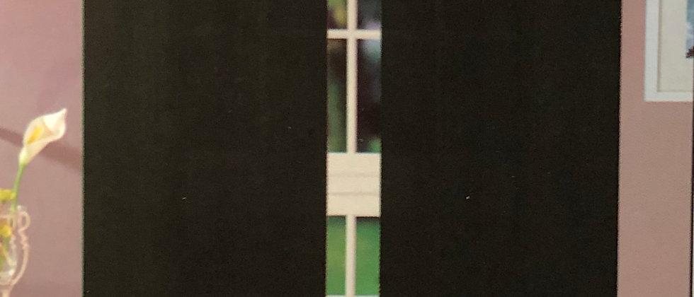 "Joyce 55"" X 63"" Single Sheer Panel"