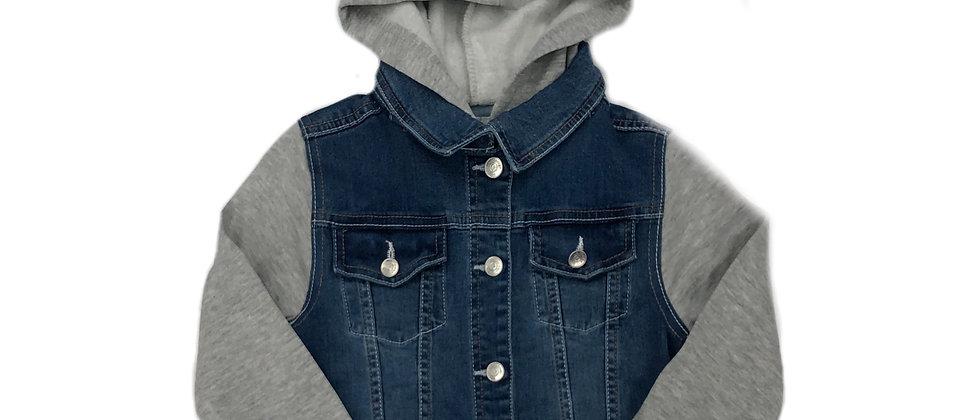 Wallflower- 2Fer Unicorn Hooded Jean Jacket
