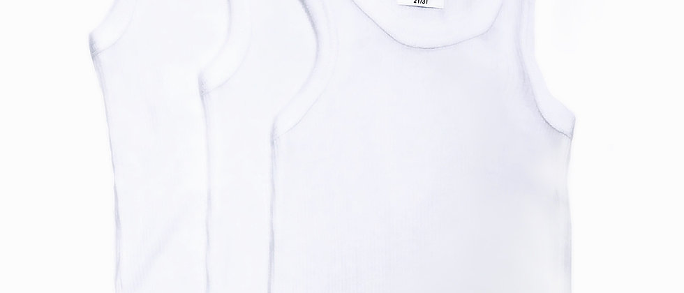 Beverly Hills Polo Club 3pk Ribbed Athletic T-Shirt