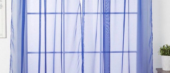"Linda 55"" X  84"" Single Sheer Panel"