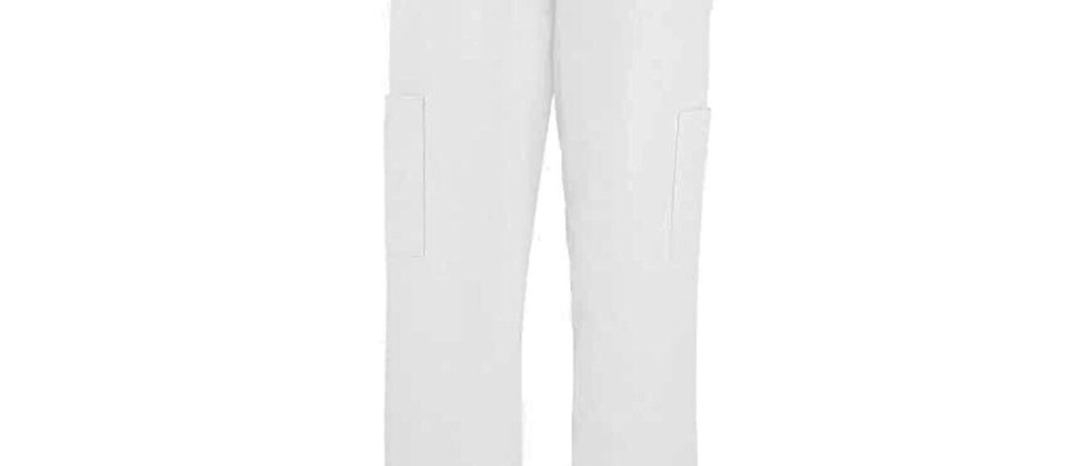 Unisex Medical Scrub Bottoms -White