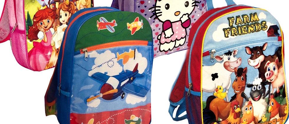 "14"" Character Backpacks"
