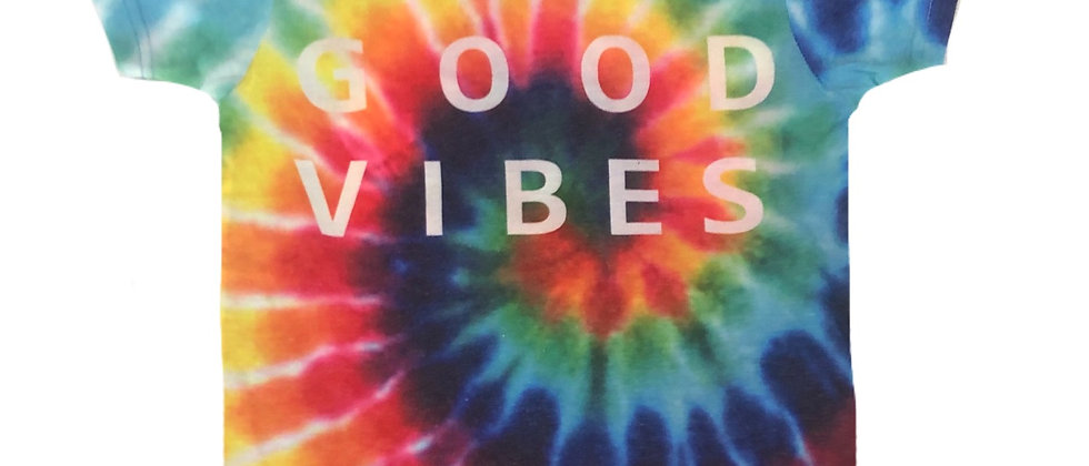 Galaxy - Tie Dyed Good Vibes T-Shirt