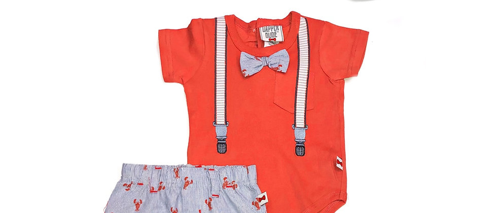 Infants - Dapper Dude 3 pc Short Set