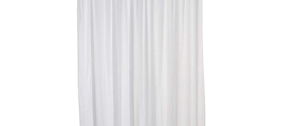 Splash Guard Duluxe White Shower Liner