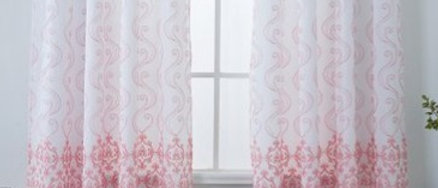 Bristol - Single Embroidery Panel with Attached Valance