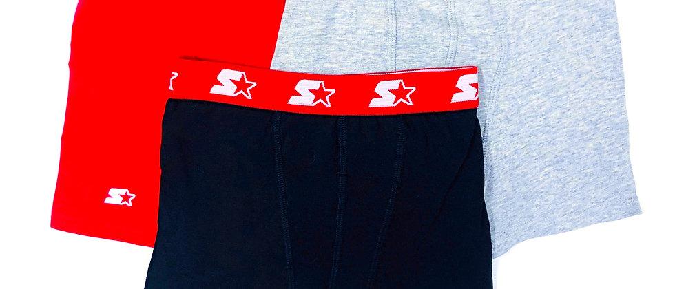 Starter 3 Pack Boxer Briefs