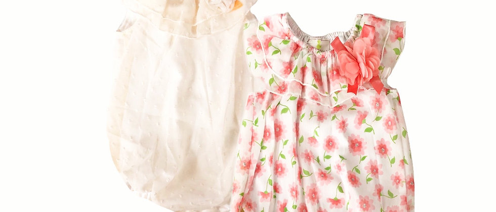 Infant - Duck Duck Goose Bubble Dress/Body Suit