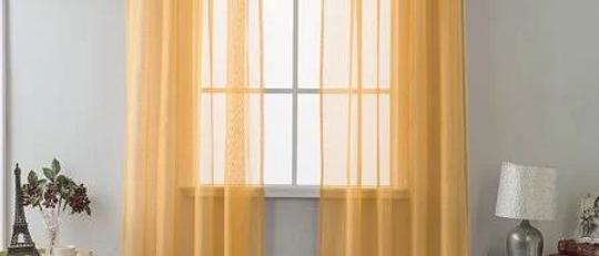 "Celine 55"" X 90"" Single Sheer Panel"