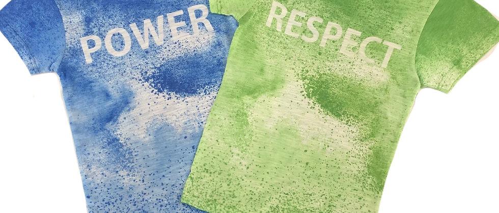 Galaxy - Pigment Dyed T-Shirt w/ Print