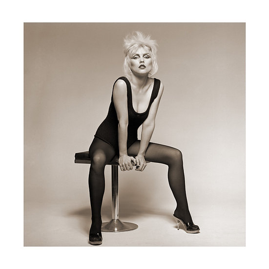 Blondie Editioned Lambda Print - 30x30