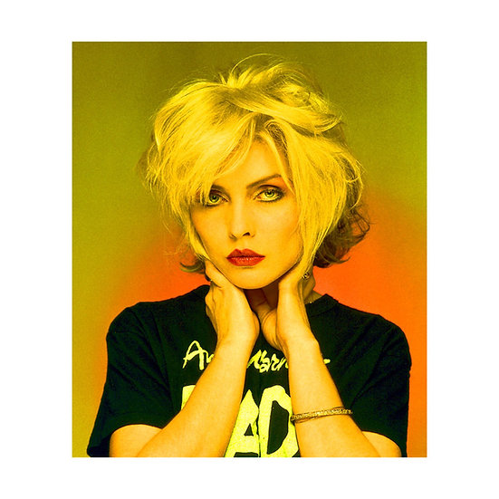 Debbie Harry 'Warhol' Limited Edition C-type Print - 30x30