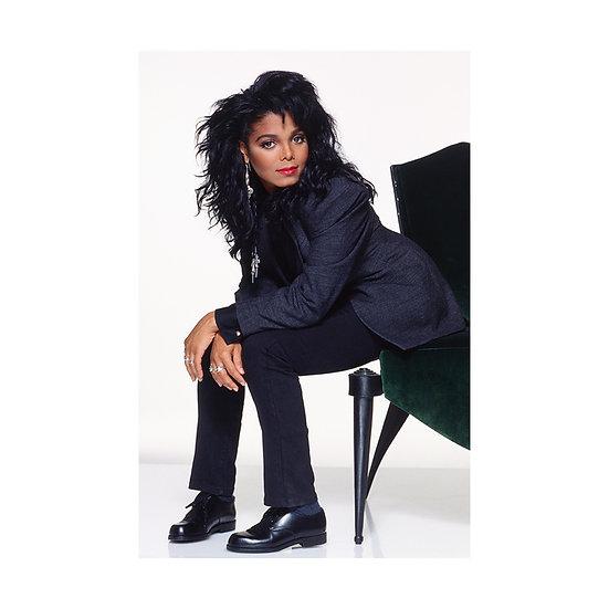 Janet Jackson print by Brian Aris