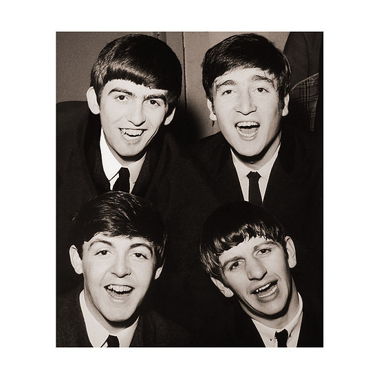 The Beatles Limited Edition ChromaLuxe Print - 40x35