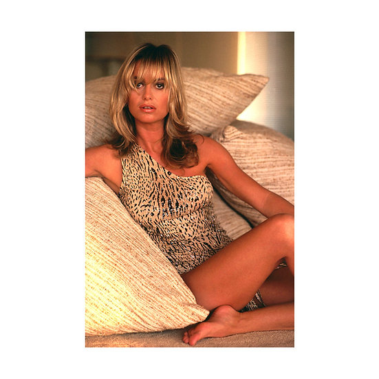 Signed Susan George Limited Edition Print - 20x16