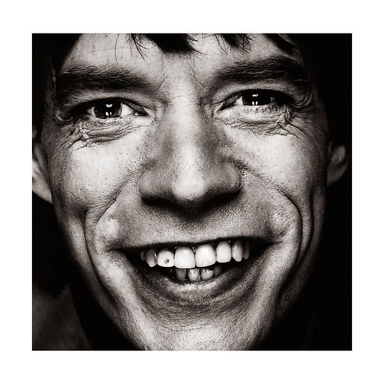 Mick Jagger Limited Edition C-Type Print - 30x30