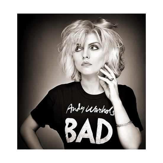 Debbie Harry/Blondie Limited Edition ChromaLuxe Print - 40x35