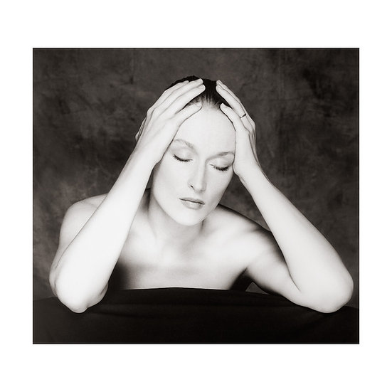 Meryl Streep Limited Edition C-Type Print - 30x30