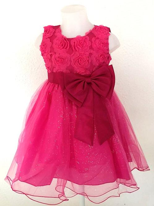 Robe rose fête