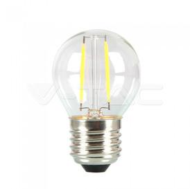 E27 MINIGLOBO FILAMENTO LED