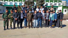 1-ші курс студенттеріне экскурсия жасалып, «Ашық есік» күні ұйымдастырылды