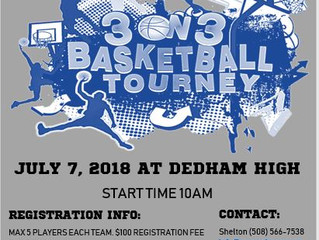 Presenting: 3 on 3 Men's Basketball Tournament