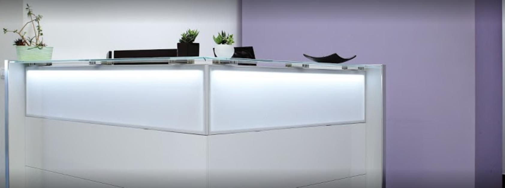 Bancone NICE LED