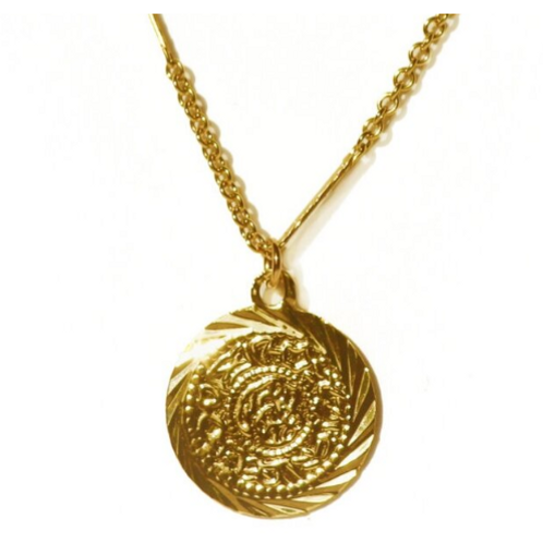 Queen medallion ketting