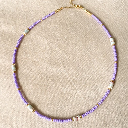 Purple rain ketting
