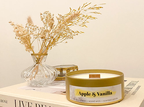 Apple & Vanilla geurkaars