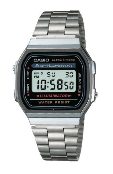 Casio A168WA-1 Silver