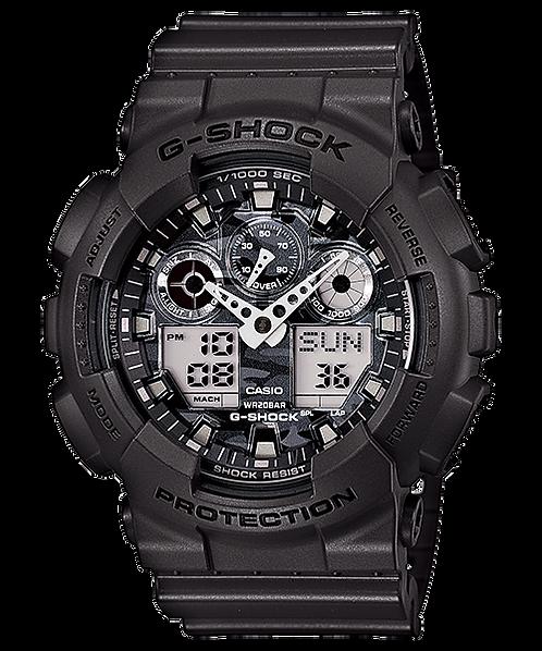 G-Shock GA-100CF-8ADR Black