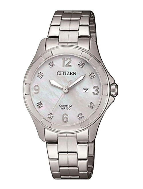Citizen EU6080-58D Silver/White