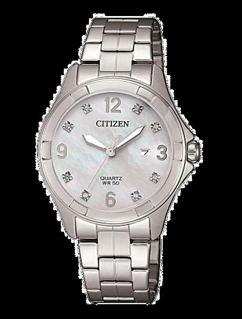 Citizen EU6080-58D Silver/Mother Of Pearl