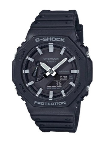 G-Shock Carbon Core GA-2100-1A Black/White