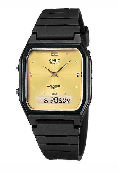 Casio AW-48HE-9A Black/Gold