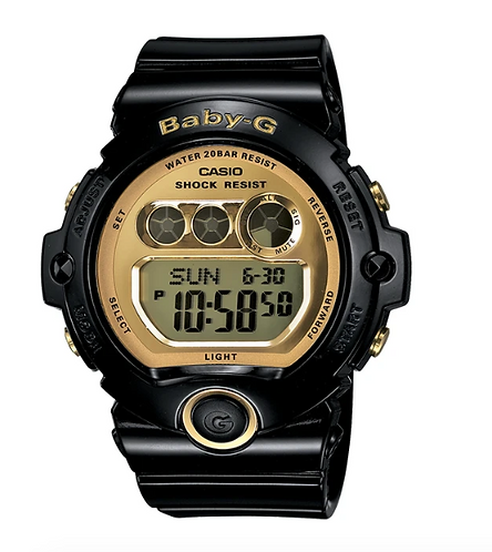 Baby-G BG-6901-1D Black/Gold