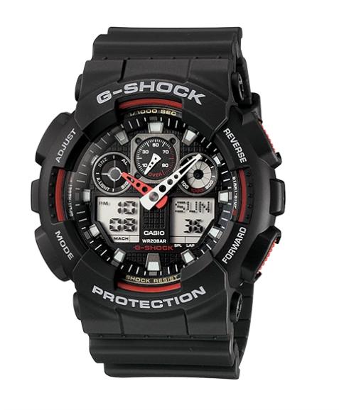 G-Shock GA-100-1A4 Black