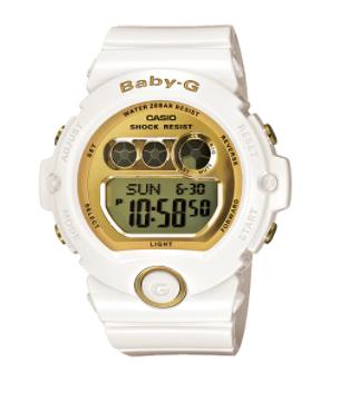 Baby-G BG-6901-7D White/Gold