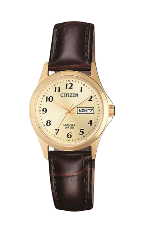 Citizen EQ2002-07P Gold/Brown