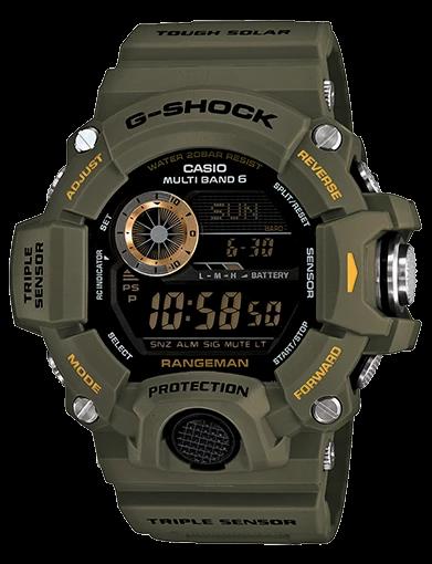 G-Shock Rangeman GW-9400-3D Khaki
