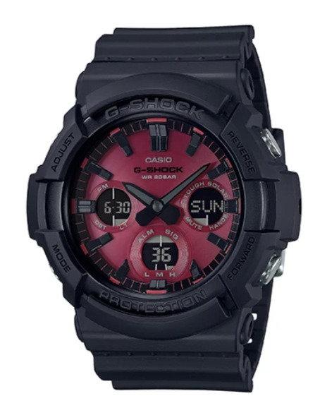 G-Shock GAS-100AR-1A Black/Red