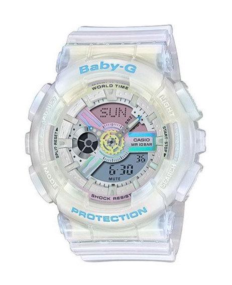 Baby-G BA-110PL-7A2 White/Multi