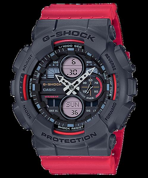G-Shock GA-140-4A Red/Grey
