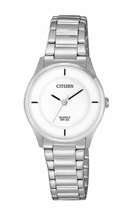 Citizen ER0201-81B Silver/White