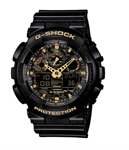 G-Shock GA100CF-1A9 Black