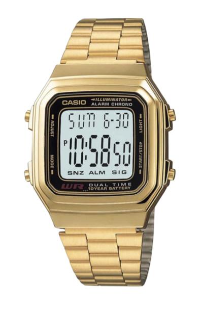 Casio A178WGA-1 Gold