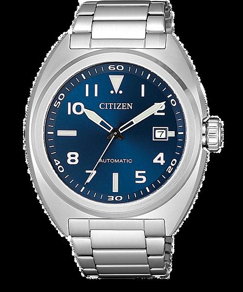 Citizen NJ0100-89L Silver/Blue