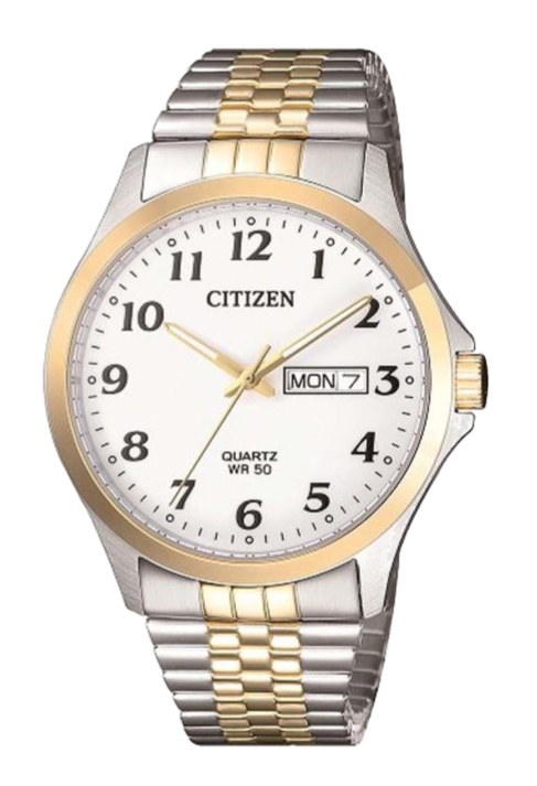 Citizen BF5004-93A Gold/Silver/White