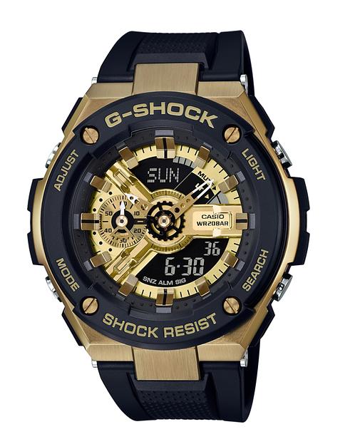 G-Shock G-Steel GST-400G-1A9 Gold/Black